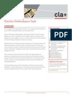 CLA Plus Practice PT
