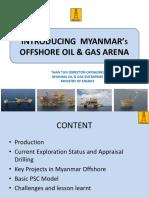 1.Introducing Myanmar Oil & Gas Arena-U Than Tun