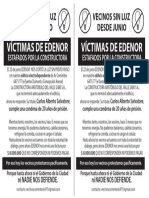 PANFLETO consorcio Av. Corrientes 6471/7