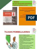 BAB 4 Peristiwa Politik Dan Ekonomi Indonesia Pasca Pengkuan Kedaulatan