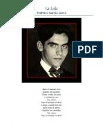 Garcia Lorca, Federico - La Lola