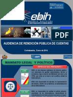 7. EBIH Audiencia Publica Enero 2014