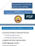 Dhanya Water Permeability of Concrete Test