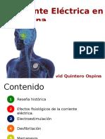 Corriente Electrica en Medicina