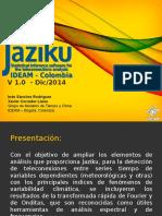 Jaziku Presentacion Dic 2014