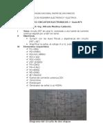 Infome 9 Electronicos I