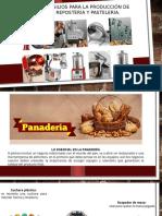 Equipo y Utensilios Para La Producción de Panadería