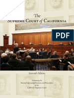 The Supreme Court of California Booklet