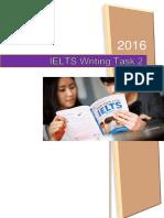Writing Task 2 (2016)