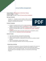 karens course outline assignment final