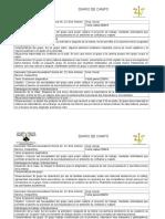 Intervención psicosocial Diario de Campo EJEMPLO
