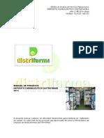 111310808 Manual de Procedimientos Del Dep Farmaceutcio Distrifarma Copia