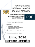 Informe - Calor Absorbido