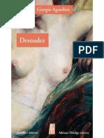 Agamben Giorgio - Desnudez.pdf