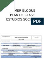 Sexto Plan de Clase Ciencias Sociales 2016 2017