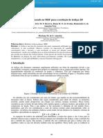 Um programa baseado no MEF para a resolução de treliças 2D