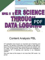 Data logging 3E model.ppt
