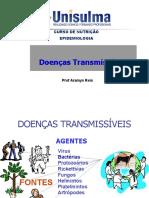 Aula 4 Doenças Transmissíveis e Não Transmissíveis