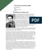 Biografia de Jorge Icaza