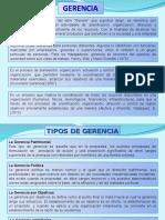 1ra Clase de Gerencia Presentación