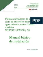 Manual Básico de Instalación Yazaki Serie WFC SC_10!20!30_50