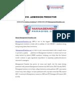 CET 2010 - Analysis