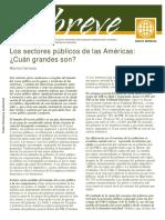 """4- Carrizosa, Mauricio (2007) """"Los Sectores Públicos de las Américas ¿Cuán Grandes Son"""", En Breve N °108, Banco Mundial, Washington-Estados Unidos..pdf"""