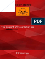 Toxic Materials Ppt Fix