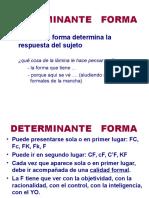 9. Determinante Forma