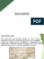 Clase IV Enchapes