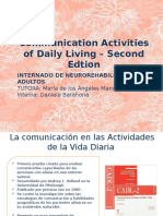 Communication Activities of Daily Living – Second Edtion (1)