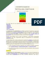 Conceptos Basicos Arquitectura Unidad Central Procesamiento