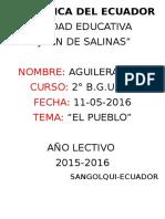 Etnias Del Ecuador