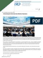 A Declaração Universal Dos Direitos Humanos _ Direitos Humanos