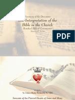 Interpretation Bible Church Summary Presentation