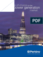 Electric Power Sector Brochure PN3010E