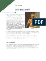 Proceso Histórico Del Ecuador