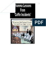 Dhamma Lessons From Coffin Incidents