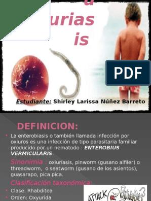 la enterobiasis definicion)