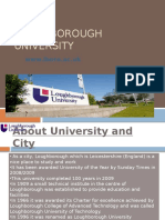 Studying Lough Borough University Consultants Global Opportunities Leading Overseas Education Consultants