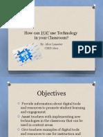 CIED 7601 Multimedia Presentation PDLM