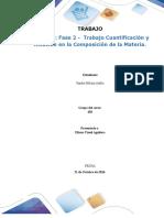 FASE III Trabajo Cuantificación y Relación en La Composición de La Materia