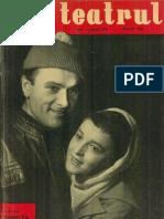 Revista Teatrul, nr. 3, anul VI, martie 1961