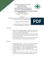 sk kesepakatan ttg peraturan internal yang berisi peraturan bagi karyawan dalam pelaksanaan upaya puskesmas.doc