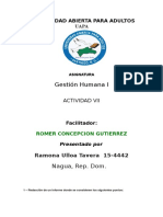 Gestion Humanista 1 Terea 7