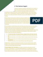 11 Contoh Report Text Bahasa Inggris
