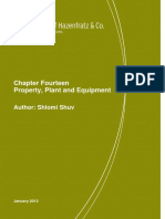 Property, Plant and Equipment Author Shlomi Shuv