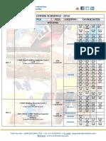 2016 Candidate Schedule Twi India
