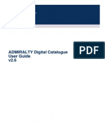 ADMIRALTY Digital Catalogue Help