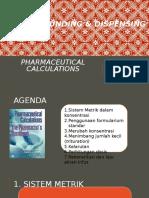 07.Pharmaceutical Calculations C&D